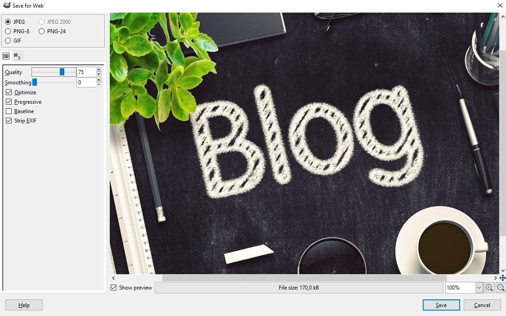 Plugin Salva per il Web Prima Schermata Davide Gavazzi Blog